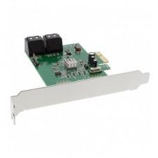 InLine - controlador de almacenamiento - SATA 6Gb/s - PCIe 2.0