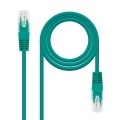 Nanocable 10.20.0400-GR cable de red 0,5 m Cat6e U/UTP (UTP) Verde