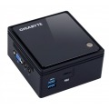 Gigabyte GB-BACE-3160 PC/estación de trabajo barebone J3160 1,6 GHz 0,69 l tamaño PC Negro