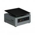 Intel NUC BOXNUC6CAYH PC/estación de trabajo barebone J3455 1,50 GHz UCFF Negro, Gris BGA 1296