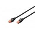 DIGITUS CABLE DE RED AWG27 CAT6 S/FTP LSZH 5M NEGRO DK-1644-050/BL