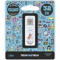 PENDRIVE TECH ONE TECH 32GB QUE VIDA MAS PERRA USB 2.0