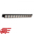 MONOLYTH ACC. PATCH PANEL 19\1 24 PUERTOS UTP C5e - T568A/B