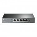 TP-LINK TL-R470T+ router Ethernet rápido Negro
