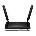 D-Link DWR-921/E router inalámbrico Banda única (2,4 GHz) Ethernet rápido 3G 4G Negro, Blanco