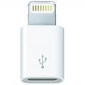 3GO ADAPTADOR LIGHTNING(M) A MICRO-USB(H) BLANCO