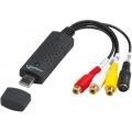 GEMBIRD CAPTURADORA DE VIDEO USB (NTSC, AVCHD, AVI, MPEG1, MPEG2, MPEG4, WMV)