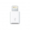 APPLE ADAPTADOR DE CONECTOR LIGHTNING A MICRO USB - MD820ZM/A