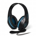 SPIRIT AURICULARES CON MICROFONO GAMER PRO-5 40MM USB / 2XJACK 3.5MM CABLE 2.1M