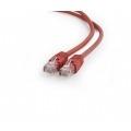GEMBIRD CABLE DE RED UTP CAT6 3M ROJOPP6U-3M/R