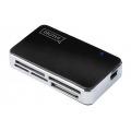 DIGITUS LECTOR DE TARJETAS EXTERNO 56-in-1 USB2.0 NEGRO DA-70322-1