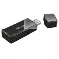 TRUSTLECTOR DE TARJETAS EXTERNO NANGA USB 2.0 SD / MICRO SD / M2 / MS21934