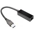 GEMBIRD ADAPTADOR USB 3.0 A ETHERNET RJ45 NEGRO NIC-U3-02