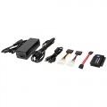 LOGILINK ADAPTADOR USB 2.0 A IDE Y SATA CON ALIMENTACION NEGRO AU0006C