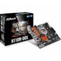 PB ASROCK LGA1151 H110M-DGS R3.0 MICRO ATX, 2xDDR4, PCIE, 6xSATA3, 4xUSB3, 2xPCI, DVI