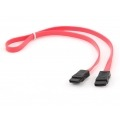 GEMBIRD CABLE DE DATOS 1M SATA ROJO CC-SATA-DATA-XL