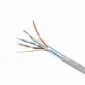 GEMBIRD BOBINA DE RED FTP CAT5e AWG24 305M GRISFPC-5004E-SOL