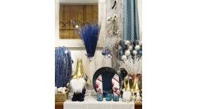 Tres motivos para usar el azul en tu decoración navideña