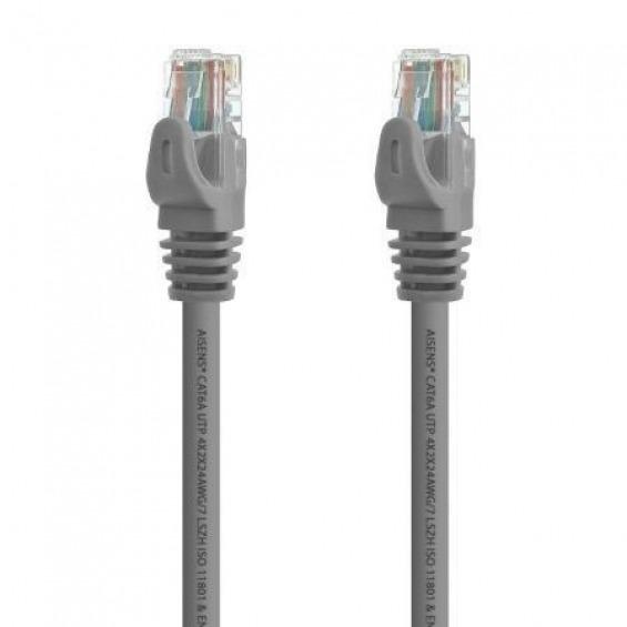 /Telephone Cable Black AISENS A143/ 6P4//°C, M-M, 3/m /0320/