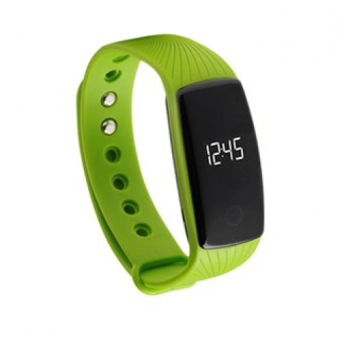 Pulsera reloj deportiva denver bfh - 12gr oled 0.49pulgadas bluetooth verde