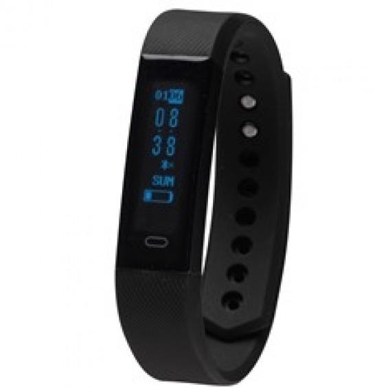 Pulsera reloj deportiva denver bfh - 15 negro 0.87pulgadas - bluetooth - fitnessband