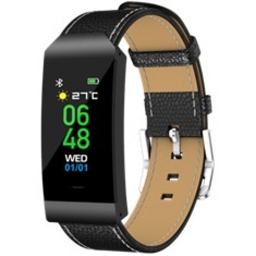 Pulsera reloj deportiva denver bfh - 250 negro - 0.96pulgadas - bluetooth - ip68 - fitnessband