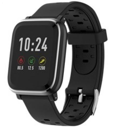 Pulsera reloj deportiva denver sw - 160 negro - smartwatch - ips - 1.3pulgadas - bluetooth