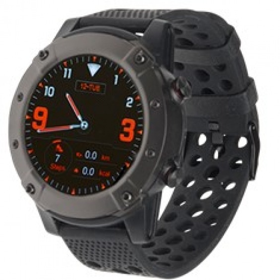 Pulsera reloj deportiva denver sw - 650 smartwatch amoled 1.3pulgadas bluetooth gps