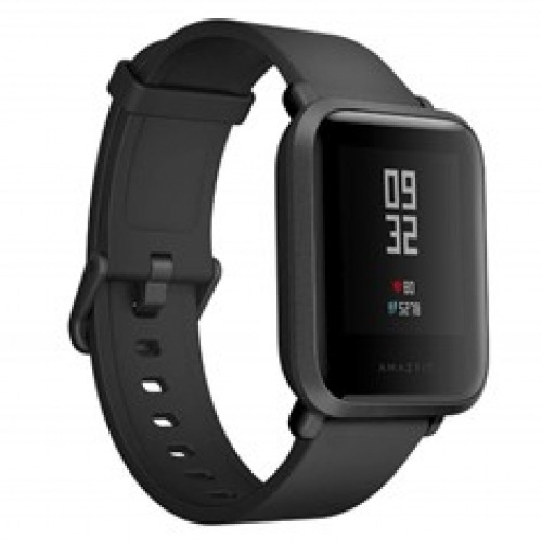Pulsera reloj deportiva xiaomi amazfit bip negro - smartwatch 1.28pulgadas - bluetooth -