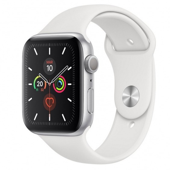 Reloj apple watch series 5 40 mm caja de aluminio plateado