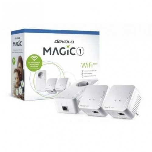 Devolo Magic 1 WiFi mini 1200 Mbit/s Ethernet Blanco 3 piezas