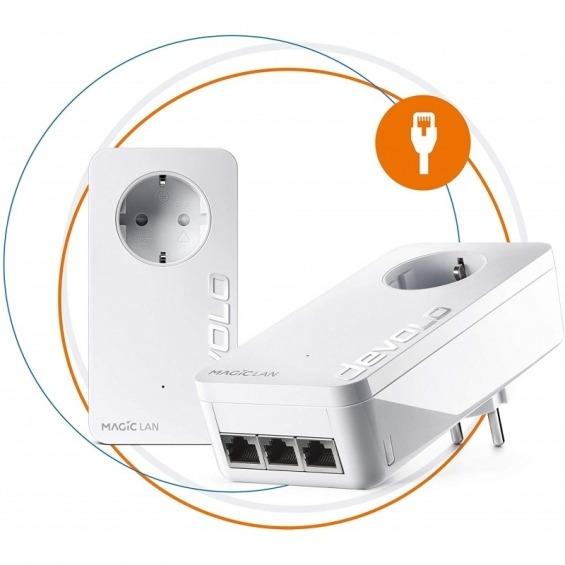 Devolo 8516 Magic 2 LAN triple 2400 Mbit/s Ethernet Blanco 2 pieza(s)