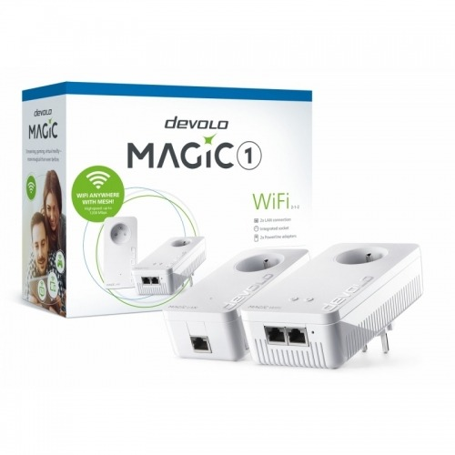 Devolo PLC Magic 1 WiFi 2-1-2 Mesh Wi-Fi 1200 Mbps