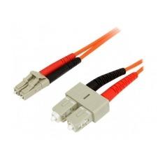StarTech.com 1m Fiber Optic Cable - Multimode Duplex 62.5/125 LSZH - LC/SC - cable de red - 1 m