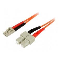 StarTech.com 1m Fiber Optic Cable - Multimode Duplex 50/125 - LSZH - LC/SC - cable de red - 1 m