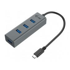 I-TEC USB-C METAL 4-PORT HUB PERPI-TEC USB-C METAL 4-PORT HUB