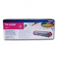 Brother TN245M - Alto rendimiento - magenta - original - cartucho de tóner