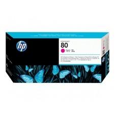 HP - magenta - cabezal de impresión con limpiador