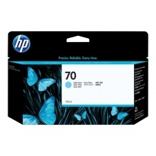 HP 70 - cián claro - original - cartucho de tinta