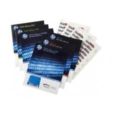 HPE Ultrium 6 RW Bar Code Label Pack - etiquetas código de barras