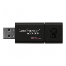 Kingston DataTraveler 100 G3 - unidad flash USB - 128 GB