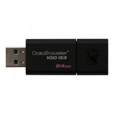 Kingston DataTraveler 100 G3 - unidad flash USB - 64 GB