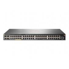 Aruba 2930F 48G PoE+ 4SFP+ - conmutador - 48 puertos - Gestionado - montaje en rack