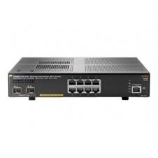 Aruba 2930F 8G PoE+ 2SFP+ - conmutador - 8 puertos - Gestionado - montaje en rack