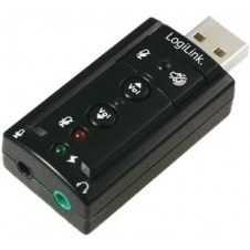 LogiLink USB Soundcard with Virtual 7.1 Soundeffects - tarjeta de sonido