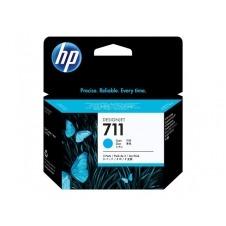 HP 711 - paquete de 3 - cián - original - cartucho de tinta