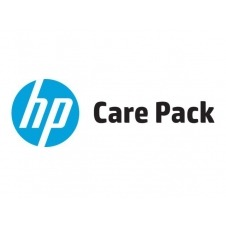 Electronic HP Care Pack Next Business Day Hardware Support for Travelers with Defective Media Retention - ampliación de la garantía - 3 años - in situ