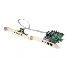 StarTech.com Tarjeta de sonido PCI Express con sonido envolvente de 7.1 canales 24bit 192 kHz - tarjeta de sonido