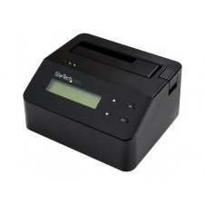 StarTech.com Borrador Docking Station para Unidades SATA de 2,5 y 3,5 Pulgadas - USB 3.0 - Con soporte para 4Kn - borrador de disco duro