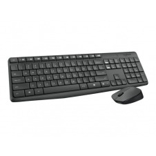 Logitech MK235 - juego de teclado y ratón - Portugués/mediterráneo